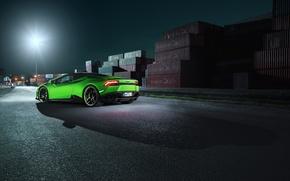 Picture car, light, Lamborghini, lantern, light, car, Spyder, wallpapers, Lamborghini, brake lights, Novitec, Torado, Huracan