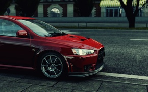 Picture red, evo, project cars