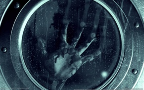 Picture drops, rain, the game, hand, Resident evil, game wallpapers, Resident Evil: Revelations