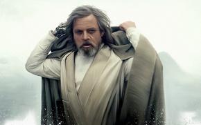 Picture Star Wars, fantasy, character, actor, science fiction, art, man, sci-fi, Jedi, film, artwork, Luke Skywalker, …
