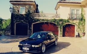 Picture tuning, bmw, BMW, classic, 740, e38, alpine