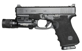 Picture gun, weapons, Glock 19, self-loading