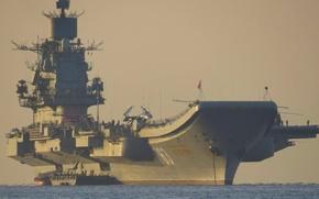 Wallpaper ship, the carrier, aeradrom