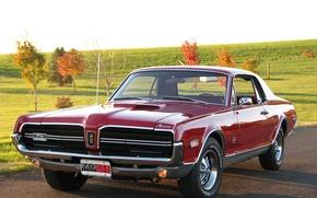 Picture Cougar, 1968, 427, Mercury, GT-E