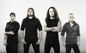 Picture group, tattoo, Metalcore, thrash metal, Trivium