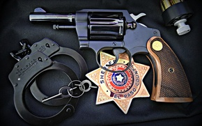 Picture icon, handcuffs, Colt, Detective Special