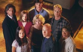 Picture Tom Welling, Smallville, Allison Mack, Smallville, Tom Welling, Clark Kent, Martha Kent, Pete Ross, Kristin …