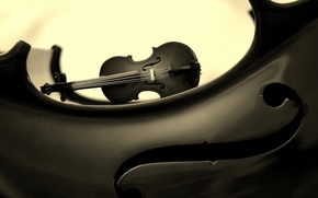 Picture music, background, violin
