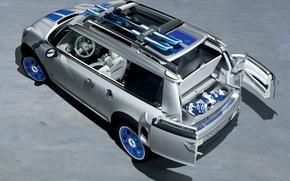 Picture machine, auto, mini, concept, the concept, cooper, mini, Detroit, detroit, Cooper