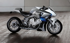 Wallpaper Concept, motorcycle, BMW