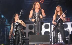Picture music, scene, group, music, concert, microphone, Rock, electric guitar, Rock, Power Metal, Heavy Metal, Hevy-Metal, …