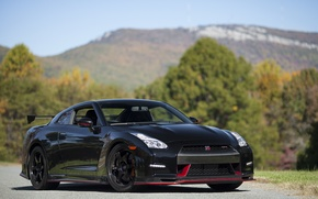 Picture Nissan, GT-R, Black, Nismo, 2015