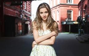 Picture look, street, portrait, dress, Maria