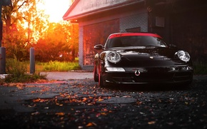 Picture car, 911, porsche, black, carrera
