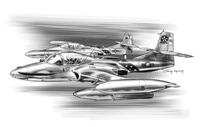 Picture pencil, attack, A-37, easy, Dragonfly, Cessna