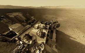 Picture NASA, Mountain, Mars, Curiosity