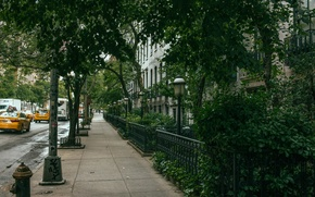 Picture machine, street, New York