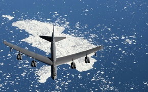Wallpaper weapons, B-52, army, the plane