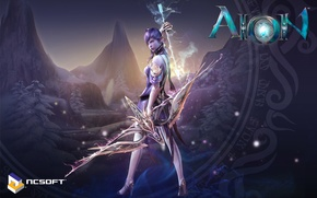 Picture magic, bow, arrow, ASMO, aion