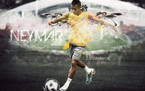 Picture football, 2011, football, photoshop, neymar, the Namer