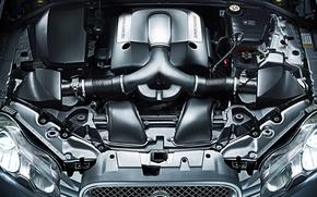 Picture engine, Jaguar, under the hood