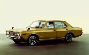 Picture auto, retro, Nissan, 1971, Nissan, cars, 1975, Sedan, Cedric