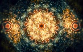 Picture patterns, turbulence visually pleasing, lightfarm