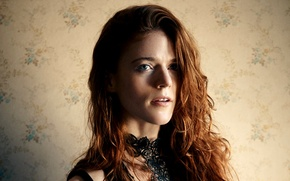 Picture look, actress, redhead, redhead, hair, look, actress, Rose Leslie, Rose Leslie