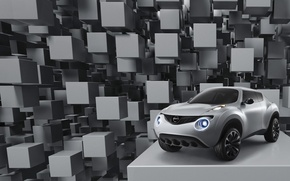 Wallpaper Win, cubes, the concept car, Nissan