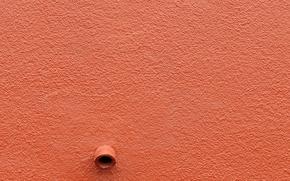 Wallpaper wall, minimalism, pipe