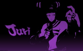 Picture Girl, Game, Anime, game, Fighter, Art, Anime, Fighting, Street Fighter, Fighting game, Juri, Street fighter, …