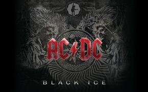 Wallpaper Music, Wallpaper, Hard Rock, AC/DC, Black Ice, Rock'n'Roll, Blues Rock