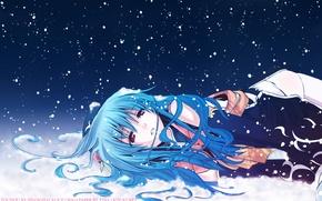 Picture Winter, Snow, Hinanawi Tenshi, Erect