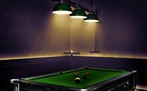 Picture table, balls, sport, Billiards
