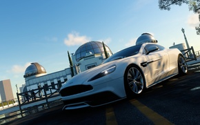 Picture the city, Aston Martin, the evening, Observatory, Vanquish, The Crew, Wild Run