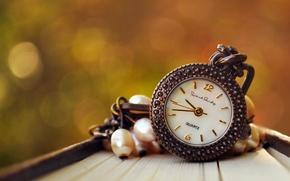 Wallpaper bokeh, suspension, dial, watch
