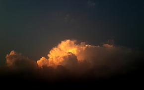 Picture sky, sunset, cloud, suhart