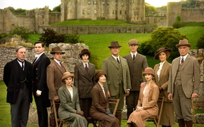 Picture castle, the series, actors, drama, characters, Downton Abbey