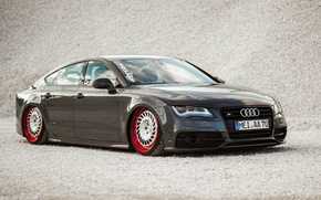 Picture Audi, Drives, Planted