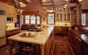 Picture design, kitchen, style, interior, ranch