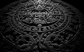 Picture stone, Maya, calendar
