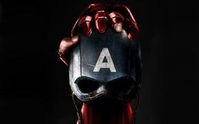 Picture fiction, hand, mask, black background, poster, Iron Man, comic, Captain America, MARVEL, Captain America: Civil …