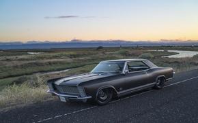 Picture black, 1965, matte, Riviera, Buick