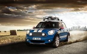 Picture Mini, Cooper, Countryman, Road, Machine, Movement, Machine, Car, Car, Cars, Cars, Road, Countrymen, Cooper, Mini