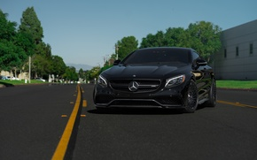 Picture Mercedes, Benz, Classic, Wheels, S63, HRE