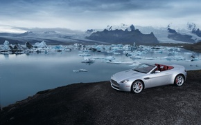 Wallpaper iceberg, Vantage, Roadster, Aston Martin
