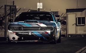 Picture drift, Dodge Challenger, muscle car, srt8, detroit, drifting, carshow