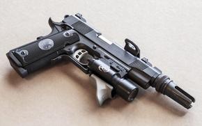 Picture weapons, 1911, Predator, Nighthawk Custom, gun
