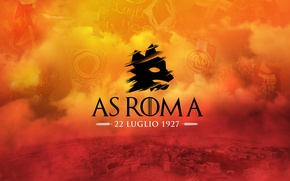 Picture wallpaper, sport, Italy, football, birthday, AS Roma