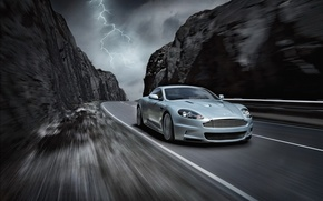 Wallpaper Aston Martin, auto, DBS, car, machine